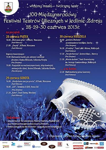 XXIMFTU2013plakat