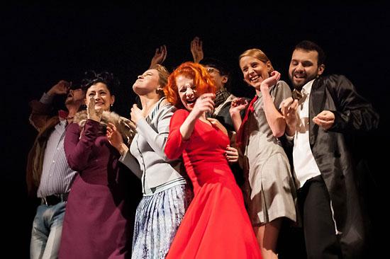 6.12.2013 Walbrzych Teatr Dramatyczny spektakl pt. Walbrzych. Ut
