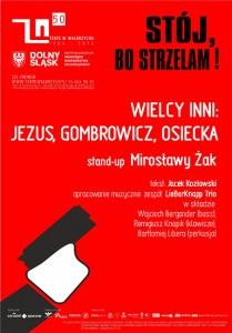 WIELCY INNI: JEZUS, GOMBROWICZ, OSIECKA @ Teatr Dramatyczny w Wałbrzychu | Wałbrzych | Województwo dolnośląskie | Polska