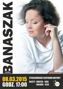 Koncert Hanny Banaszak @ Strzegomskie Centrum Kultury | Strzegom | Województwo dolnośląskie | Polska