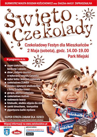 Święto Czekolady - piknik @ Świebodzice, Park Miejski | Świebodzice | Województwo dolnośląskie | Polska