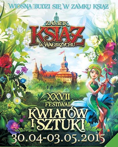 XXVII Festiwalu Kwiatów i Sztuki w Książu @ Zamek Książ | Wałbrzych | Województwo dolnośląskie | Polska