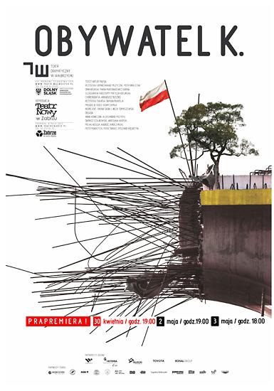 Obywatel K. - PREMIERA @ Teatr Dramatyczny w Wałbrzychu | Wałbrzych | Województwo dolnośląskie | Polska
