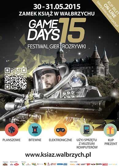 I Festiwal Gier i Rozrywki GAME DAYS 2015 w zamku Ksiaż @ Zamek Książ | Wałbrzych | Województwo dolnośląskie | Polska
