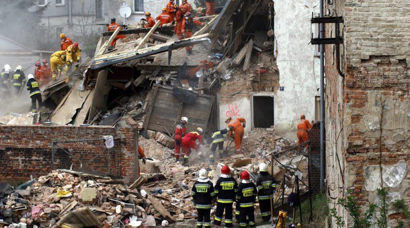 Jest komunikat prokuratury w/s katastrofy przy Krasickiego 28