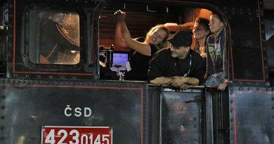 Koncert na gwizdki parowozów w Świdnicy