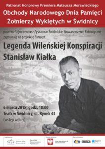 Legenda wileńskiej konspiracji-Stanisław Kiałka @ Teatr w Świdnicy | Świdnica | Województwo dolnośląskie | Polska