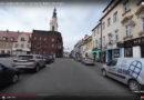 Przejazd ulicami Świebodzic – film w technice 360 st.