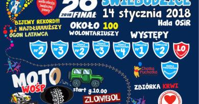 26-ty WOŚP zagra też w Świebodzicach