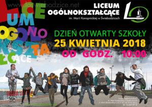 Dzień otwarty świebodzickiego LO @ LO w Świebodzicach | Świebodzice | Województwo dolnośląskie | Polska