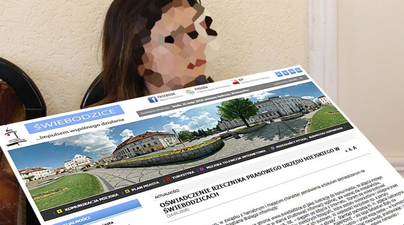 Kompromitujące oświadczenie rzecznika prasowego świebodzickiego magistratu