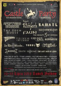 XX Castle Party w Bolkowie @ Zamek w Bolkowie | Bolków | Województwo dolnośląskie | Polska