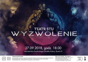 Wędrowanie. Część II — Wyzwolenie @  sala teatralna ŚOK | Świdnica | Województwo dolnośląskie | Polska