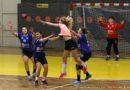 Inauguracyjny mecz rozgrywek ligi piłki ręcznej kobiet w Świebodzicach