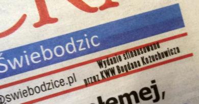 """Oszukana gazeta, KWW Bogdana Kożuchowicza podszywa się pod """"gazetę""""!"""