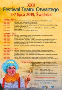 Festiwal Teatru Otwartego @ ŚOK Świdnica