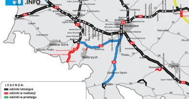 Są pieniądze na drogę S5 z Wrocławia do Bolkowa blisko Świebodzic!
