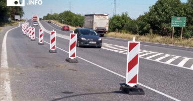 Utrudnienia na drodze do Wałbrzycha