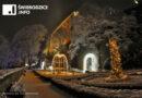Zamek Książ przyprószony śniegiem…