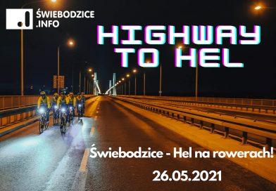 Ze Świebodzic na Hel rowerem dla fundacji Fizjotriterapia Follow Your Dreams