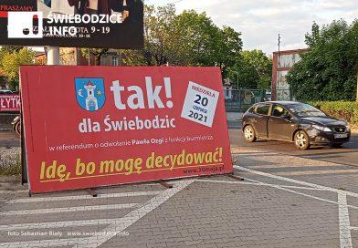 Nowy termin referendum w Świebodzicach to 20 czerwca 2021